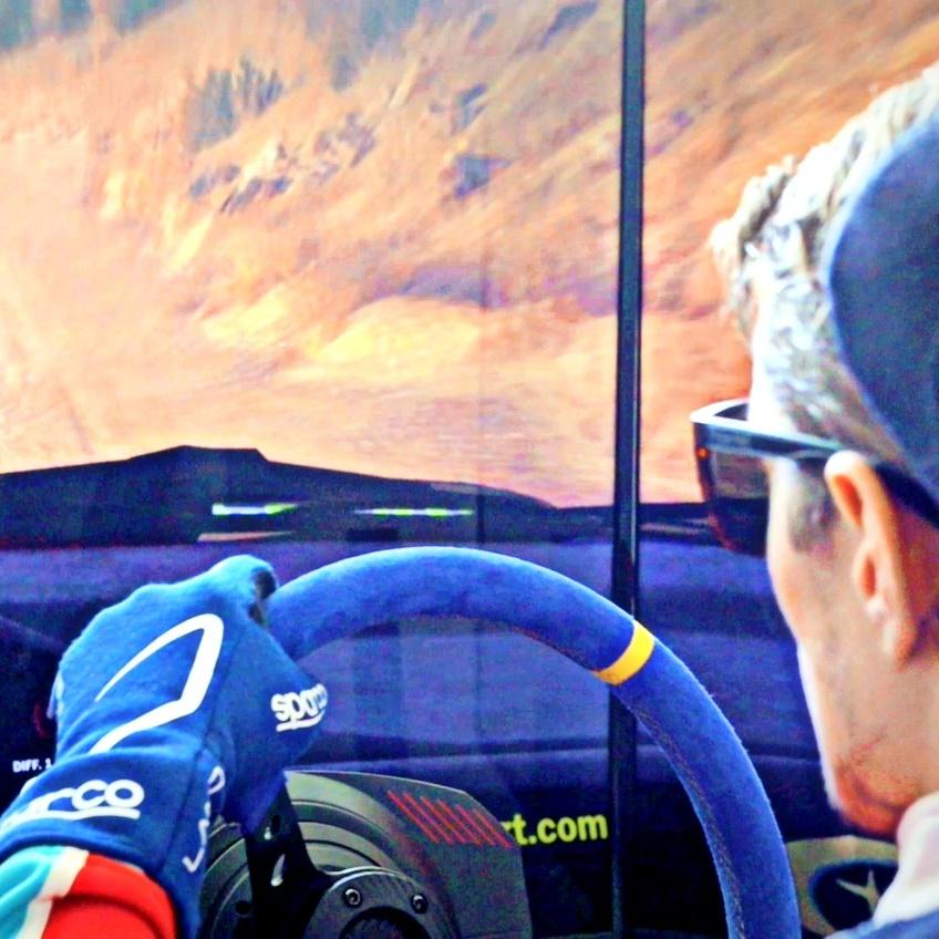 RentFun Rally simulátor