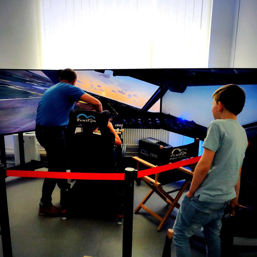 Letecký simulátor Expert   RentFun, Brno, CZ