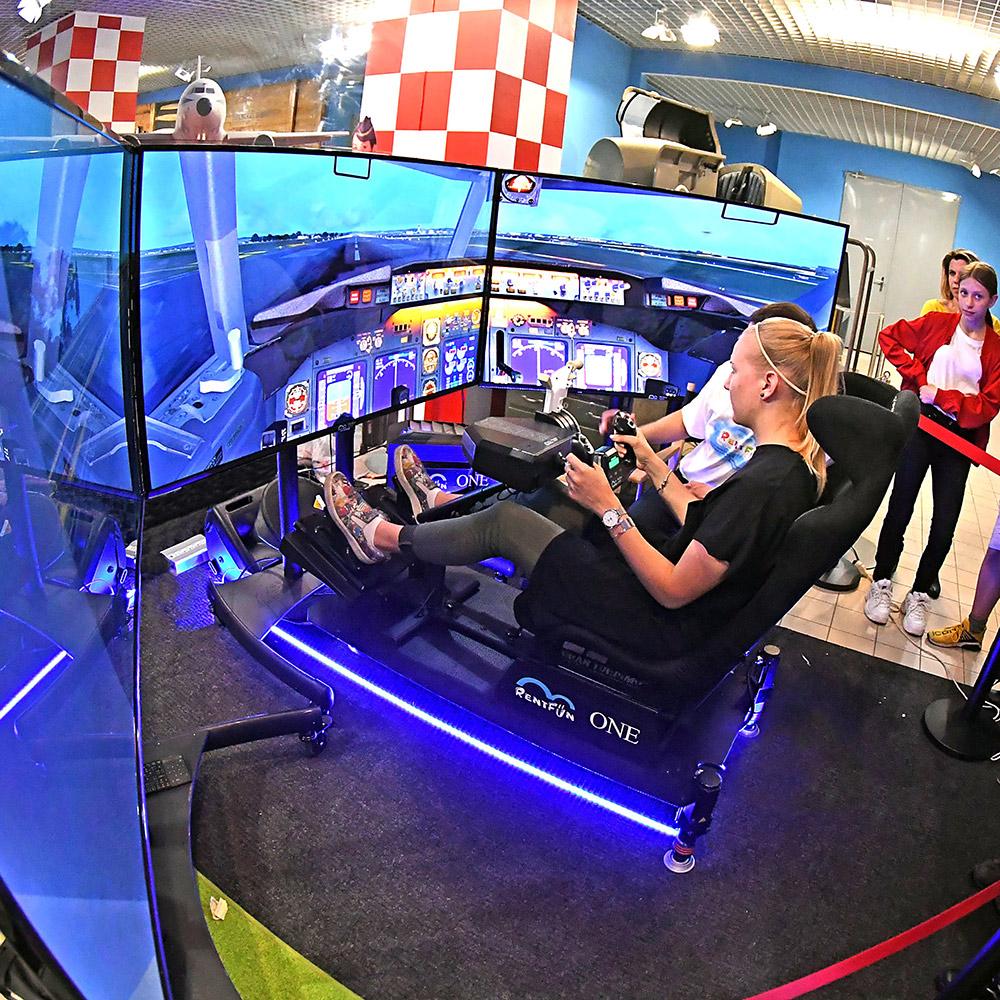 Letecký simulátor Expert   Technické muzeum, Brno, CZ