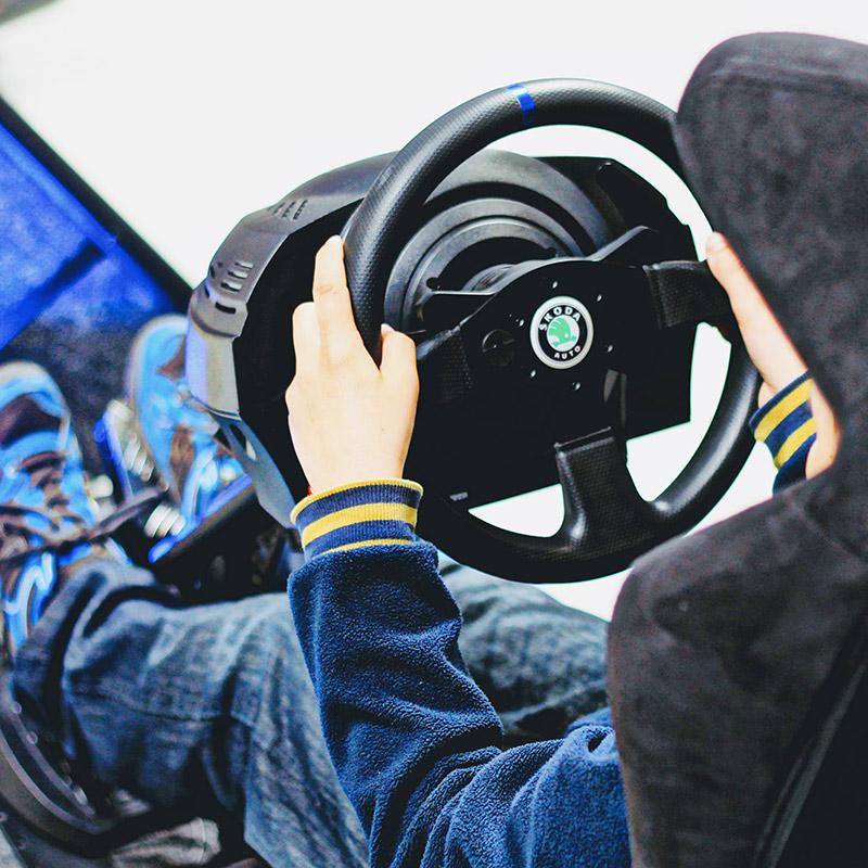 Rally simulátor Expert | Škoda Open day, ŠKODA AUTO