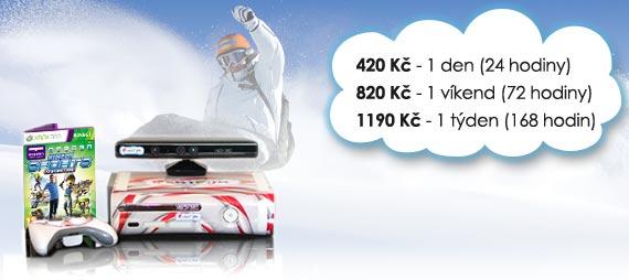 snowboardovy simulátor Základní, snowboard zabava ceny na pronájem
