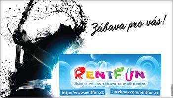 Exklusivní dárky z RentFun.cz