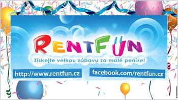 RentFun.cz Zábava Plakat 2.0 Velky