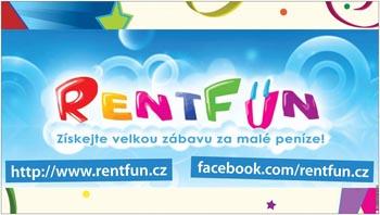 RentFun.cz Zábava Plakat 3.0 Velky