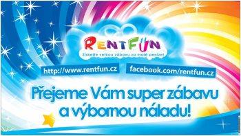 RentFun.cz Zábava Plakat 4.0 Velky