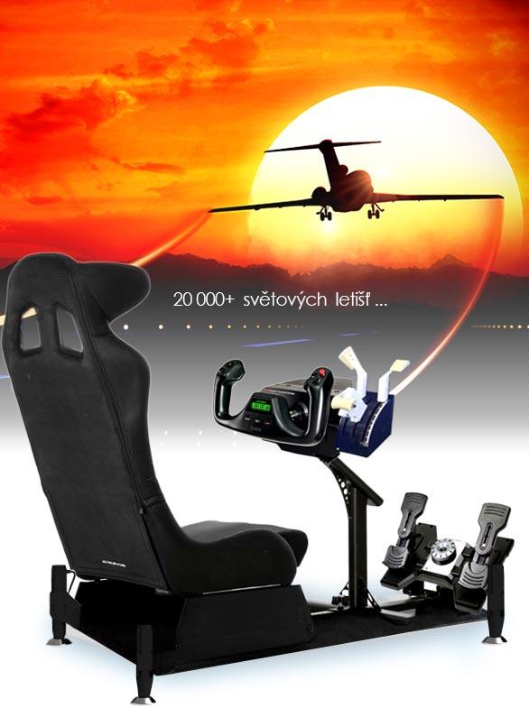 Půjčovna leteckeho simulátoru