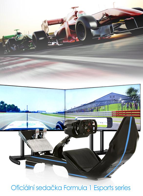 Půjčovna Formule 1 simulátoru