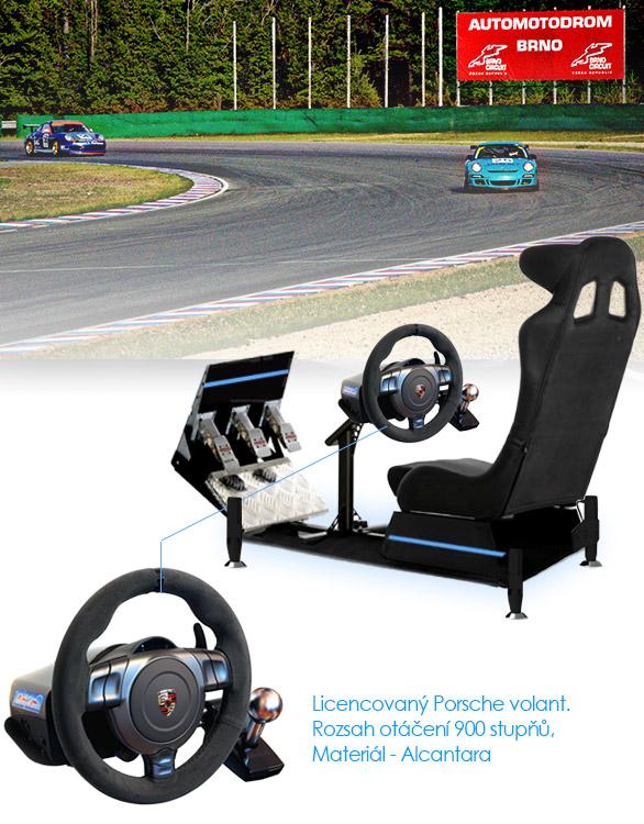 Půjčovna závodního simulátoru sportovních vozů