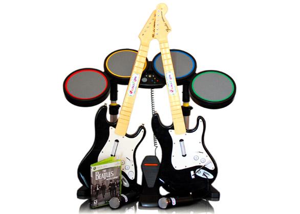 Pronájem Beatles Rock Band
