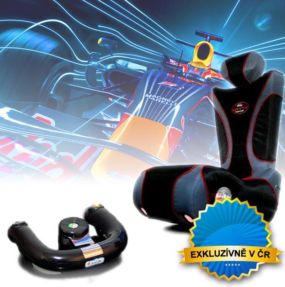 Atrakce F1 simulátor - Zábavné atrakce - Pronájem skvělých atrakcí -  F1 simulátor - zábavné atrakcí