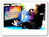 Xbox 360 video pro pronájem Závodní herní sedačky