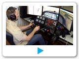 video pro pronájem flight trenažéru. Pronájem leteckého trenazeru pro firemní akce