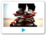 video pro pronájem lyzarskeho trenažéru. Pronájem trenazeru lyz pro firemní akce