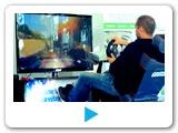 video pronájem Rally simulátoru. Varianta - Super Zábava. Pronájem Rally atrakcí pro firemní akce