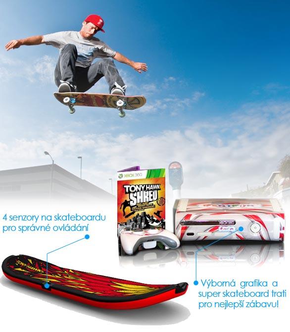Půjčovna skateboard simulátoru