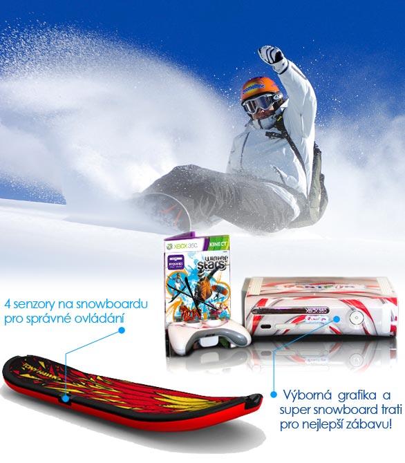Půjčovna snowboard simulátoru