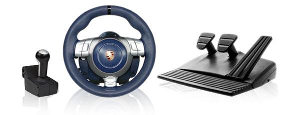 Půjčovna volantu Fanatec Porsche 911 Carrera Wheel