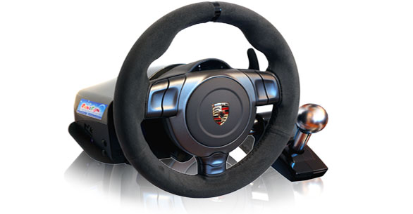 xbox volanty fanatec pc ps3 pron jem fanatec porsche gt2. Black Bedroom Furniture Sets. Home Design Ideas