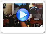 YouTube Video. Půjčovna volantu Logitech Driving Force Pro