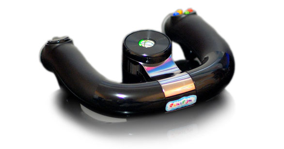 Půjčovna Volantu Microsoft Xbox 360 Wireless Speed Wheel