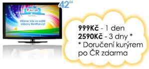 Pronajem LCD pro Kinect Xbox Brno Praha Ostrava