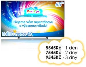 :LED pronájem TV plazmy Pujcovna LCD Kinect Brno Praha Ostrava